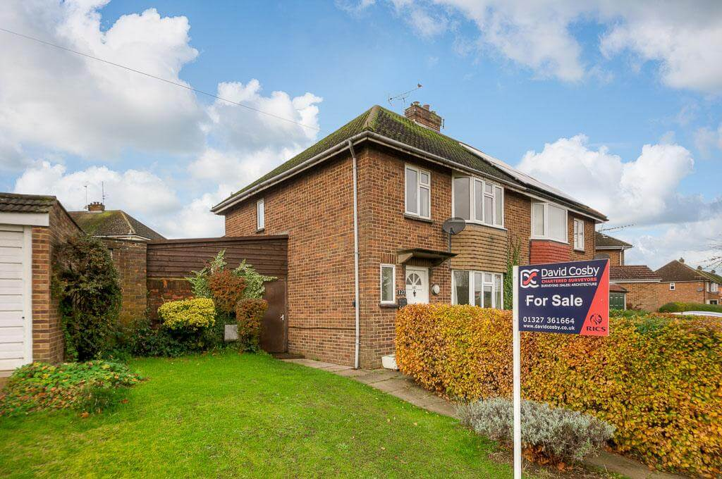 David Cosby Chartered Surveyors & Estate Agents - PINEWOOD, BLETCHLEY - Front Elevation 2