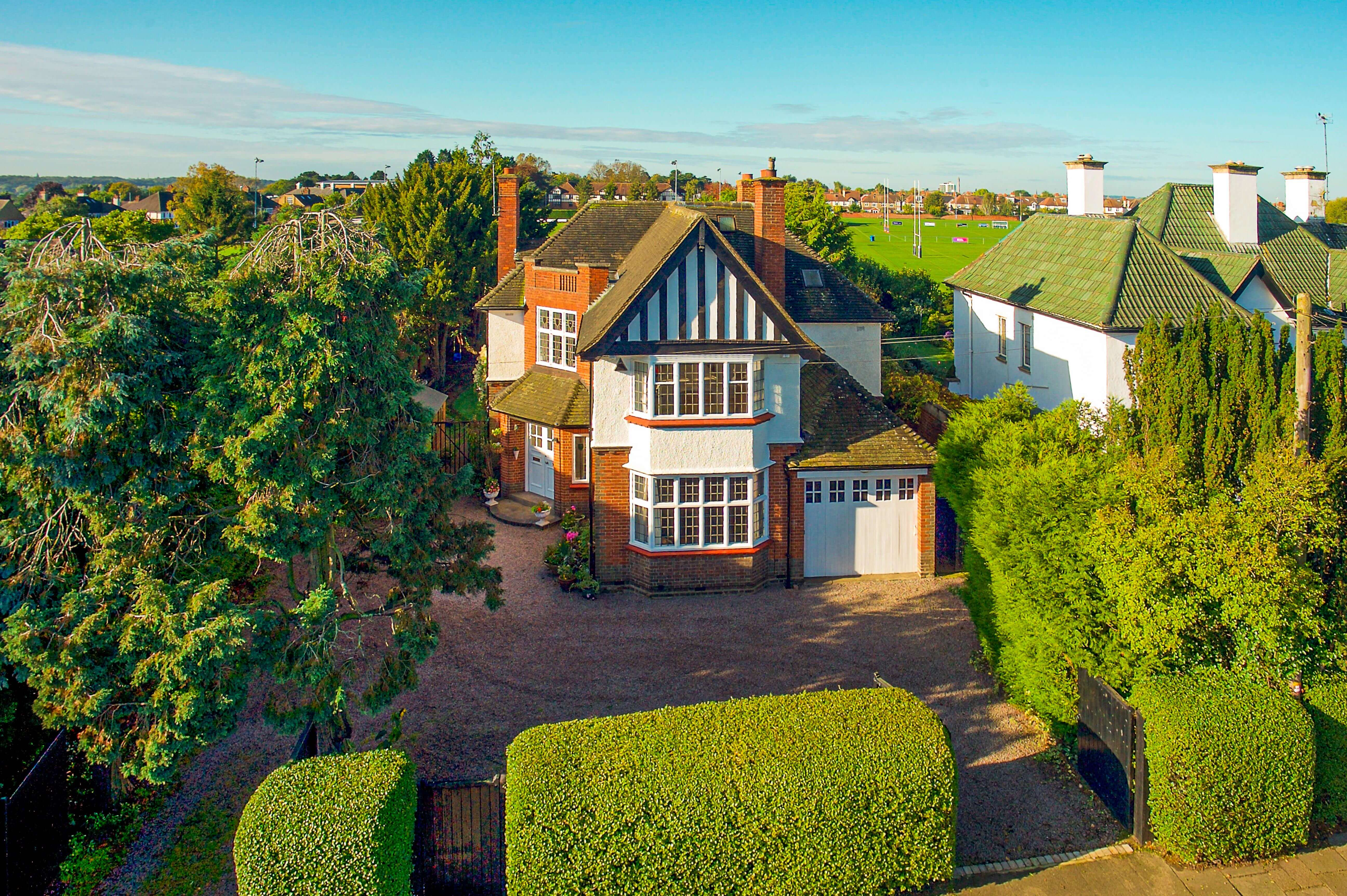 David Cosby Chartered Surveyors & Estate Agents - Southwood Northampton - Aerial Image HIGH res