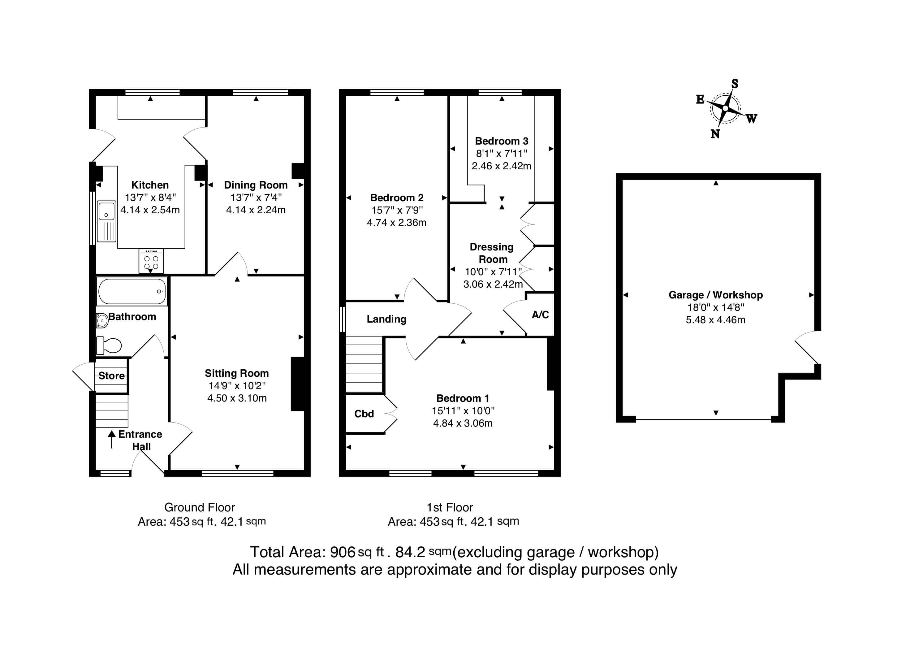 David Cosby Chartered Surveyors & Estate Agents - NEWTON ROAD, BLETCHLEY - Floor Plans