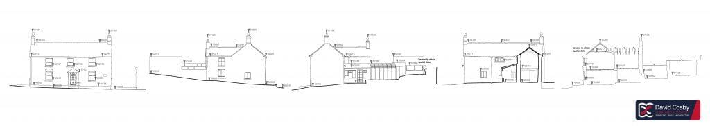 Cottage - Existing Elevations