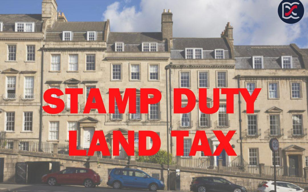 Stamp Duty Land Tax Announcement – 8th July 2020