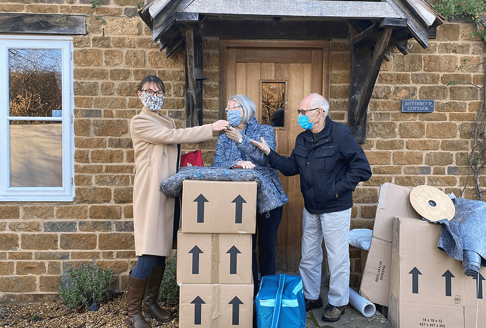 Escape to the Northamptonshire Countryside - Key Handover
