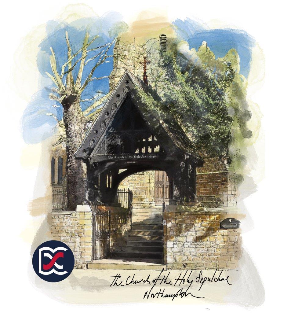 Holy Sepulchre Church - Illustration of Lych Gate