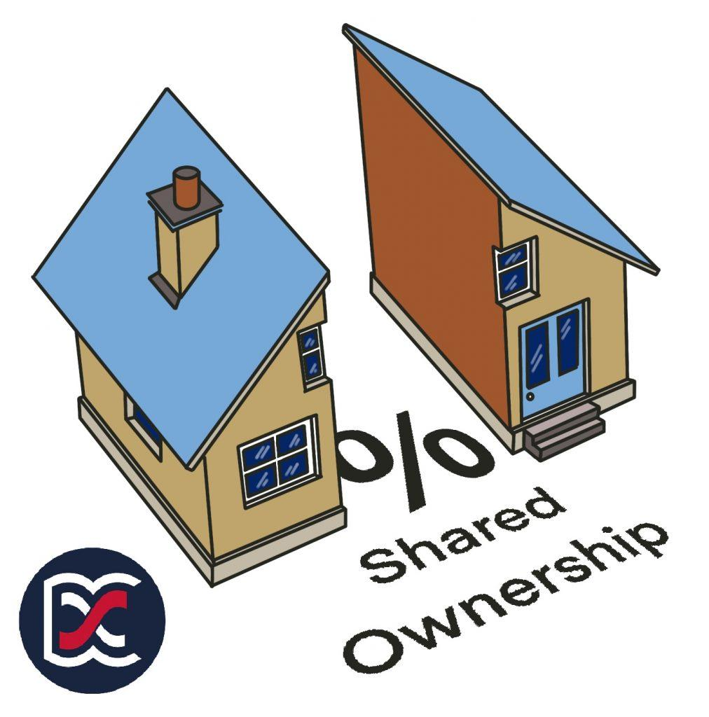 Shared Ownership Divided House Image